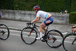 Megan Guarnier (USA) of Boels-Dolmans Cycling Team rides in the front group during the Giro Rosa 2016 - Stage 1. A 104 km road race from Gaiarine to San Fior, Italy on July 2nd 2016.