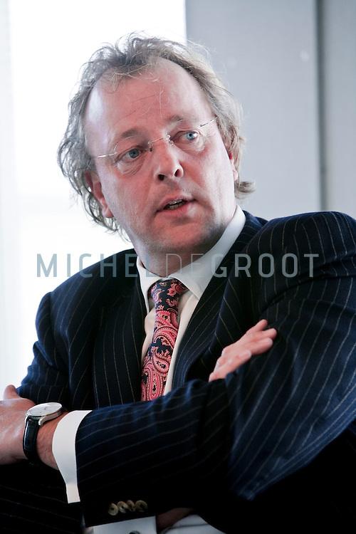 Leendert Bikker CEO van lucht-taxibedrijf Bikkair op March 05, 2008 in Rotterdam.  (photo by Michel de Groot)