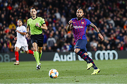 January 30, 2019 - Barcelona, Spain - FC Barcelona midfielder Arturo Vidal (22) during the match FC Barcelona v Sevilla CF, for the round of 8, second leg of the Copa del Rey played at Camp Nou  on 30th January 2019 in Barcelona, Spain. (Credit Image: © Mikel Trigueros/NurPhoto via ZUMA Press)
