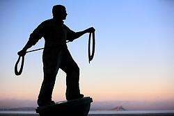 UK CORNWALL NEWLYN 9JUN08 - Fisherman's statue near Newlyn harbour in Cornwall, western England...jre/Photo by Jiri Rezac / WWF UK..© Jiri Rezac 2008..Contact: +44 (0) 7050 110 417.Mobile:  +44 (0) 7801 337 683.Office:  +44 (0) 20 8968 9635..Email:   jiri@jirirezac.com.Web:    www.jirirezac.com..© All images Jiri Rezac 2008 - All rights reserved.