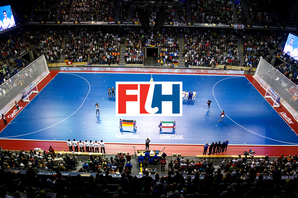 BERLIN - Indoor Hockey World Cup<br /> Semi-final 1: Germany - Iran<br /> foto: <br /> WORLDSPORTPICS COPYRIGHT FRANK UIJLENBROEK