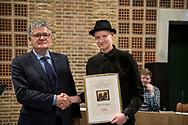 Kunsthåndværkerprisen 2019 tildeles møbeldesigner Esben P. Jørgensen. Foto: © Michael Bo Rasmussen / Baghuset. Dato: 07.05.19