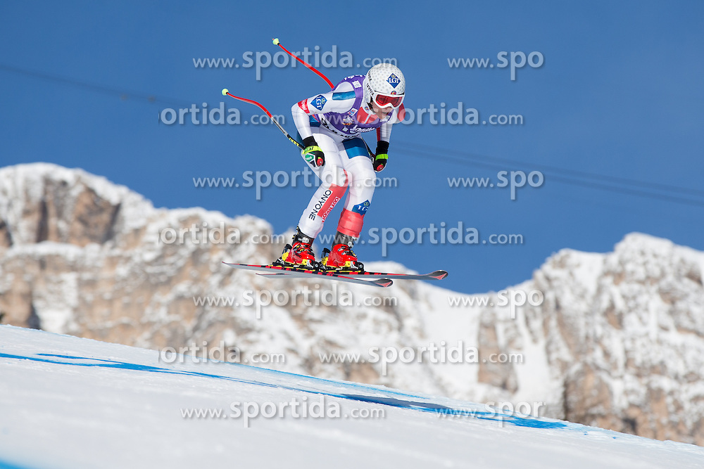 19.01.2013, Olympia delle Tofane, Cortina d Ampezzo, ITA, FIS Weltcup Ski Alpin, Abfahrt, Damen, im Bild Tina Weirather (LIE) // Tina Weirather of Lichtenstein in action during the ladies Downhill of the FIS Ski Alpine World Cup at the Olympia delle Tofane course, Cortina d Ampezzo, Italy on 2013/01/19. EXPA Pictures © 2013, PhotoCredit: EXPA/ Johann Groder