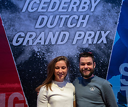 10-04-2019 NED: Kick off of Icederby in Thialf 2019/2020, Almere<br /> The Ultimate Icederby between long track and short track speed skating comes to invade the Netherlands / Sjinkie<br /> Knegt, Suzanne Schulting