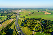 Nederland, Utrecht, Bunnik, 23-08-2016; Fort bij Vechten, onderdeel van de Nieuwe Hollandse Waterlinie. Tegenwoordig Waterliniemuseum.<br /> Fort bij Vechten, near Utrecht, part of the New Dutch Waterline (defense line).<br /> aerial photo (additional fee required); <br /> luchtfoto (toeslag op standard tarieven);<br /> copyright foto/photo Siebe Swart