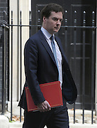 © Licensed to London News Pictures. 26/06/2012. Westminster, UK  Chancellor of the Exchequer GEORGE OSBORNE on Downing Street today 26th June 2012. Photo credit : Stephen Simpson/LNP