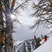 Jeff Leger taking to the West Wall in free-base-jumping monster air that won him over 5 million video views and 6000 new instagram subscribers.
