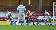 AJ Leitch-Smith (L) of Yeovil Town scores to make it 3-1 during the Sky Bet League 1 match at the Coral Windows Stadium, Bradford<br /> Picture by Richard Land/Focus Images Ltd +44 7713 507003<br /> 06/09/2014
