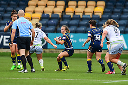 Jaz Clarke of Worcester Valkyries in action - Mandatory by-line: Craig Thomas/JMP - 30/09/2017 - RUGBY - Sixways Stadium - Worcester, England - Worcester Valkyries v Saracens Women - Tyrrells Premier 15s