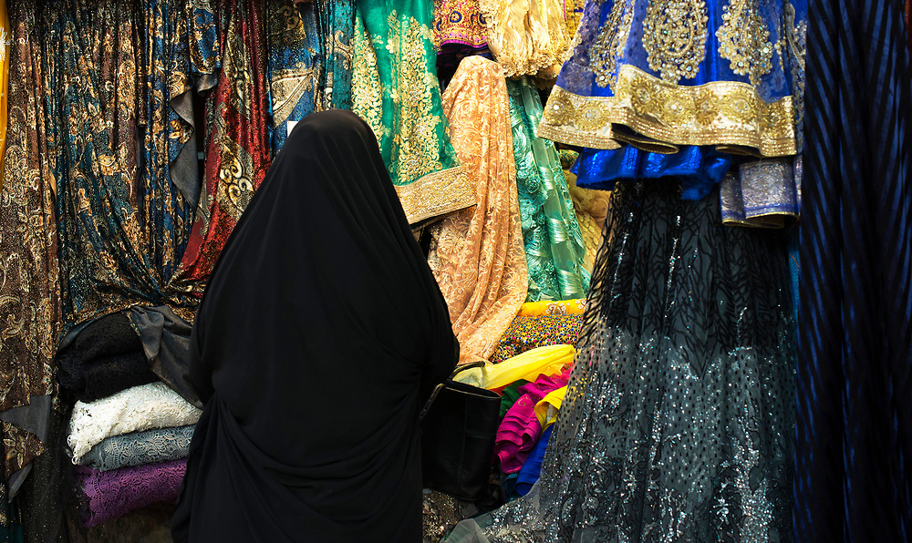 The bazaar is home to almost 200 stores selling carpets, handicrafts, spices and clothes.