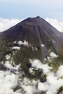 Aerial view of Pico Mount Volcano, Pico Island&amp;#xA; Azores Islands, Portugal, North Atlantic Ocean&amp;#xA;&copy; KIKE CALVO / V&amp;W<br />