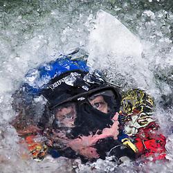 2017/01 Plongée sous glace en Gendarmerie