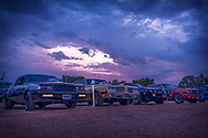 Drive-In Moonrise <br />