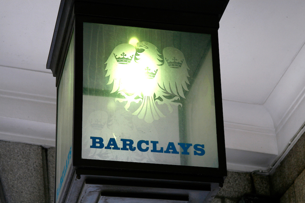 Barclays Bank lantern in Cheapside, London EC2
