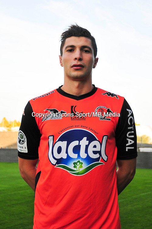 Selim Ben Djemia - 17.09.2014 - Photo officielle Laval - Ligue 2 2014/2015<br /> Photo : Philippe Le Brech / Icon Sport