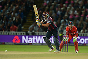 Shahid Afridi during the NatWest T20 Blast final match between Northants Steelbacks and Lancashire Lightning at Edgbaston, Birmingham, United Kingdom on 29 August 2015. Photo by David Vokes.