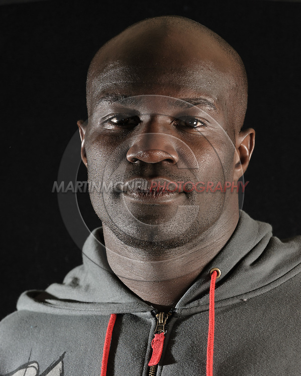 Portrait of mixed martial arts athlete Cheick Kongo
