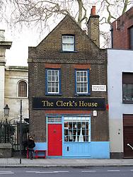 UK ENGLAND LONDON 1MAR14 - An old building, The Clerk's House on Shoreditch High Street, east London.<br /> <br /> <br /> <br /> jre/Photo by Jiri Rezac<br /> <br /> <br /> <br /> &copy; Jiri Rezac 2014