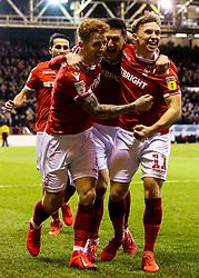Jack Colback of Nottingham Forest celebrates with teammates after scoring a goal to make it 1-0 - Mandatory by-line: Robbie Stephenson/JMP - 13/03/2019 - FOOTBALL - The City Ground - Nottingham, England - Nottingham Forest v Aston Villa - Sky Bet Championship