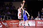Amedeo Della Valle<br /> Grissin Bon Pallacanestro Reggio Emilia - Betaland Capo d' Orlando<br /> Lega Basket Serie A 2016/2017<br /> Reggio Emilia, 05/12/2016<br /> Foto Ciamillo-Castoria