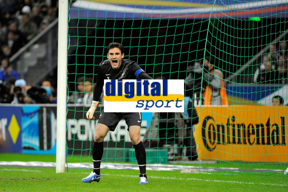 FOOTBALL - FRIENDLY GAME 2012 - FRANCE v JAPAN - STADE DE FRANCE ( SAINT DENIS ) FRANCE - 12/10/2012 - PHOTO JEAN MARIE HERVIO / REGAMEDIA / DPPI -HUGO LLORIS (FRA)