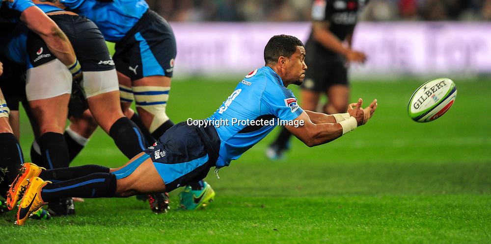 Rudy Paige of the Vodacom Bulls during the 2017 Super Rugby game between the Sharks and the Bulls at Growthpoint Kings Park Stadium, Durban on 30 June 2017 © Gerhard Duraan/BackpagePix