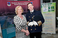 Galway launches 200 Gatherings ! Come home to Irelands Cultural Heart  with help of  Anne Melia Fáilte Ireland West Seamus O hAodha Galway Sea Festival  at Aras An Contae. Picture Andrew Downes.