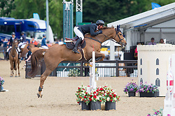 Williams Guy, GBR, Titus<br /> CSI5* Jumping<br /> Royal Windsor Horse Show<br /> © Hippo Foto - Jon Stroud