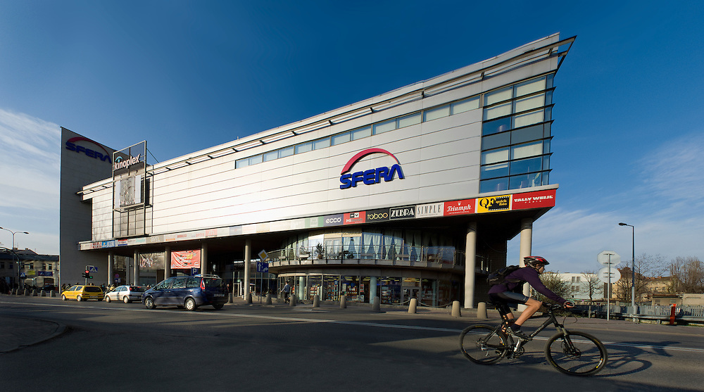 "Multiplex ""Kinoplex / HELIOS"" at shopping mall SFERA in Bielsko Biala, Poland"