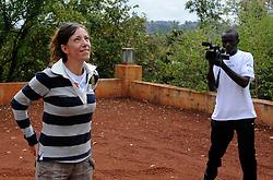 17-10-2008 REPORTAGE: KILIMANJARO CHALLENGE 2008: TANZANIA <br /> Van Machame Gate naar Machame Camp (3032m). De Kilimanjaro Challenge van de BvdGf.<br /> &copy;2008-FotoHoogendoorn.nl