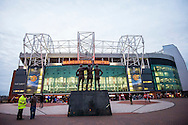 MANCHESTER, Manchester United - PSV, voetbal Champions League groepsfase, seizoen 2015-2016, 25-11-2015, Old Trafford, overzicht stadion aan de buitenkant, .