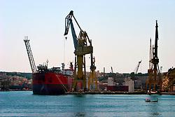 MALTA VALETTA 23JUL06 - View of Valetta's Grand Harbour overlooking Senglea and Vittoriosa...jre/Photo by Jiri Rezac..© Jiri Rezac 2006..Contact: +44 (0) 7050 110 417.Mobile:  +44 (0) 7801 337 683.Office:  +44 (0) 20 8968 9635..Email:   jiri@jirirezac.com.Web:    www.jirirezac.com