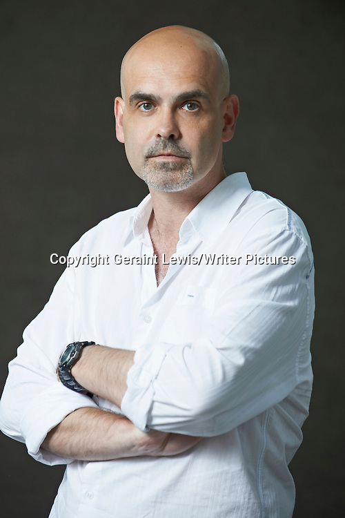 Wayne Price writer of Furnace at The Edinburgh International Book Festival 2012. Taken 21st August 2012<br /> <br /> Credit Geraint Lewis/Writer Pictures