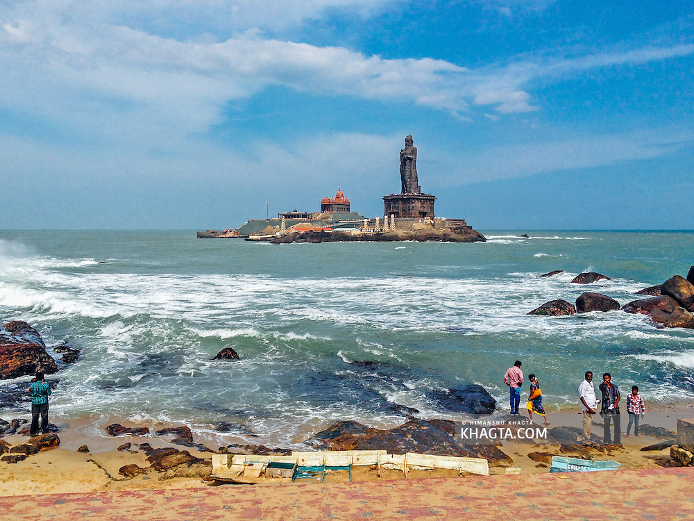 Kanyakumari, Tamil Nadu. The southernmost tip of mainland India.