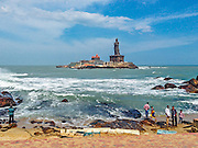 Kanyakumari, Tamil Nadu. The southernmost tip of mainland India.