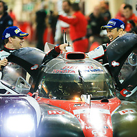 #8, Toyota Gazoo Racing, Toyota TS050 Hybrid, driven by: Sebastien Buemi, Anthony Davidson, Kazuki Nakajima, WEC BAPCO 6 Hours of Bahrain, 18/11/2017,