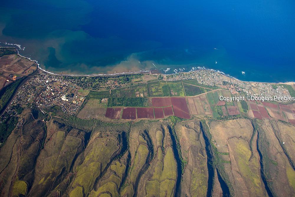 Aerial, Waimea, Kauai, Hawaii