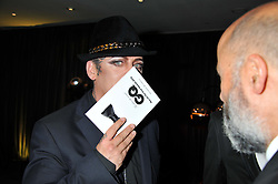 BOY GEORGE at the GQ Men of The Year Awards 2012 held at The Royal Opera House, London on 4th September 2012.
