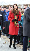 Duke and Duchess of Cambridge at Dumfries House Scotland April 2013