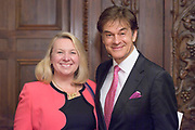 Dr. Mehmet Oz the 2017 Pete du Pont Individual Freedom Award Recipient in Wilmington, De. 17 May 2017. Photograph © Jim Graham 2017