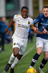 Livingston Marvin Bartley and Raith Rovers Regan Hendry. Livingston 3 v 1 Raith Rovers, William Hill Scottish Cup played 18/1/2020 at the Livingston home ground, Tony Macaroni Arena.