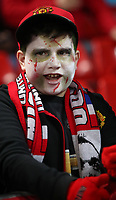 Football - 2017/2018 UEFA Champions League - Group A: Manchester United vs. S.L. Benfica <br /> <br /> <br /> Manchester United fan in Halloween face paint at Old Trafford<br /> <br /> COLORSPORT/LYNNE CAMERON
