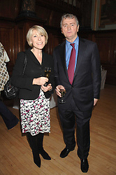GILLY MACKWOOD and STEPHEN QUINN at a party to celebrate the publication of 'Seven Secrets of Successful Parenting' by Karen Doherty and Georgia Coleridge, held at Chelsea Town Hall, King's Road, London on 28th April 2008.<br /><br />NON EXCLUSIVE - WORLD RIGHTS