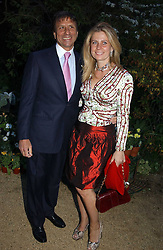 The HON.SIR ROCCO & LADY FORTE at the Cartier Chelsea Flower Show dinat the annual Cartier Flower Show Diner held at The Physics Garden, Chelsea, London on 23rd May 2005.<br /><br />NON EXCLUSIVE - WORLD RIGHTS