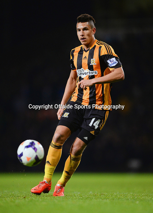 26 March 2014 - Barclays Premier League - West Ham United v Hull City - Jake Livermore of Hull City - Photo: Marc Atkins / Offside.