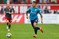 MOSCOW, RUSSIA - MAY 05: Sebastian Driussi of FC Zenit Saint Petersburg in action during the Russian Football League match between FC Lokomotiv Moscow and FC Zenit Saint Petersburg at RZD Arena on May 5, 2018 in Moscow, Russia.