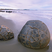 Moeraki Boulders on Otago Peninsula