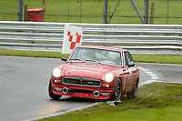 #77 Barry Holmes MGB GT V8 during the MGCC Thoroughbred Sportscar Championship at Oulton Park, Little Budworth, Cheshire, United Kingdom. September 03 2016. World Copyright Peter Taylor/PSP.
