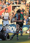 Twickenham, GREAT BRITAIN,  Quins Nick EASTER, during the Guinness Premiership match, Harlequins vs Worcester Warriors, played at the Twickenham Stoop on Sat. 16th Feb 2008.  [Mandatory Credit, Peter Spurrier/Intersport-images]