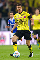 23.07.2011, Veltins arena, Gelsenkirchen, GER, Supercup, FC Schalke 04 vs. Borussia Dortmund, im Bild Robert Lewandowski (#9 Dortmund) // during the match FC Schalke 04 vs. Borussia Dortmund at Veltins arena 2011/07/23    EXPA Pictures © 2011, PhotoCredit: EXPA/ nph/  Kurth       ****** out of GER / CRO  / BEL ******